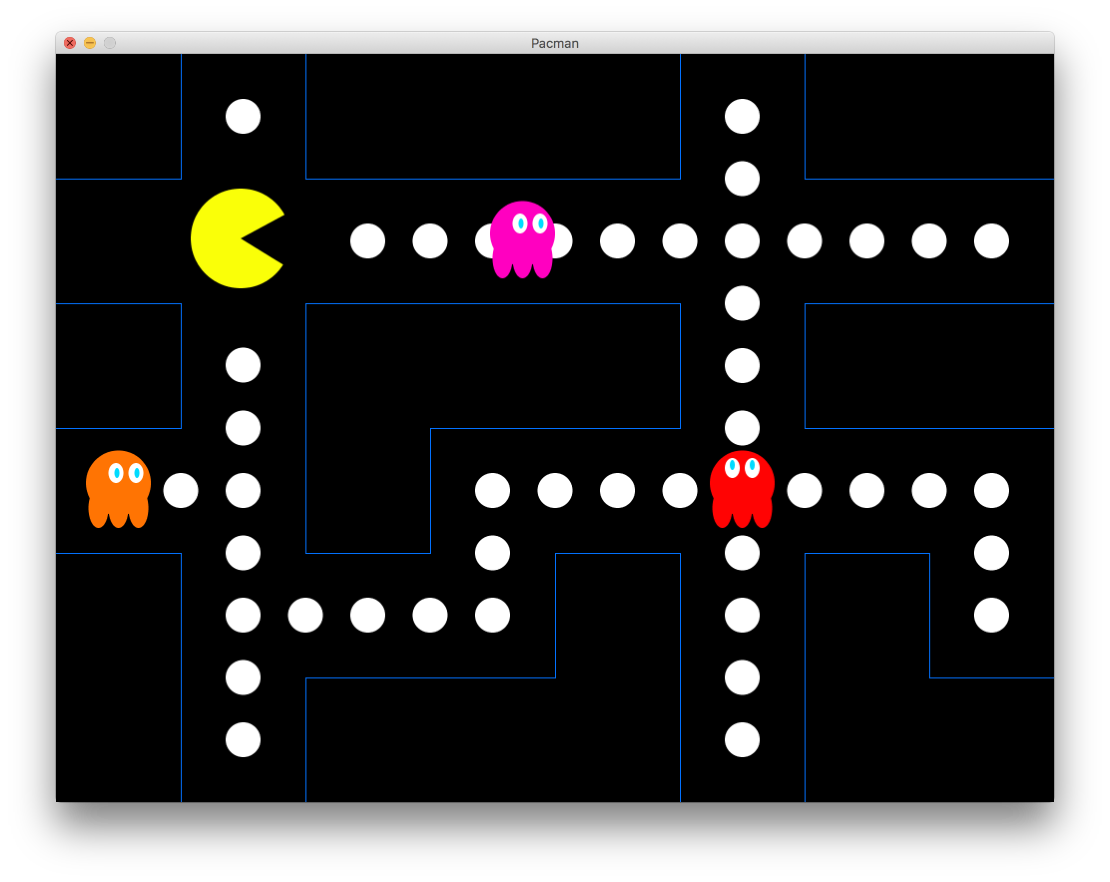 Pacman in Processing